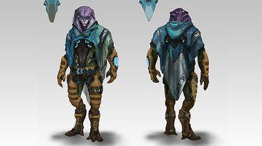 Jaal z Mass Effect: Andromeda od teraz jest biseksualny