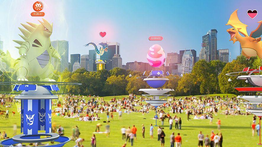 Do Pokémon Go zawitają drużynowe rajdy