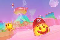 Rozchodniaczek, w którym piękniejsza Lara gra na Switchu w Mario