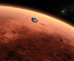 Ogromna burza piaskowa na Marsie. Rozciągnęła się już na całą planetę