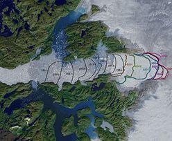 Najszybciej roztapiający się lodowiec znowu się powiększa. Ale to zła wiadomość