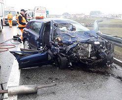 Opel jechał pod prąd. Tragedia na A1 w stronę Gdańska