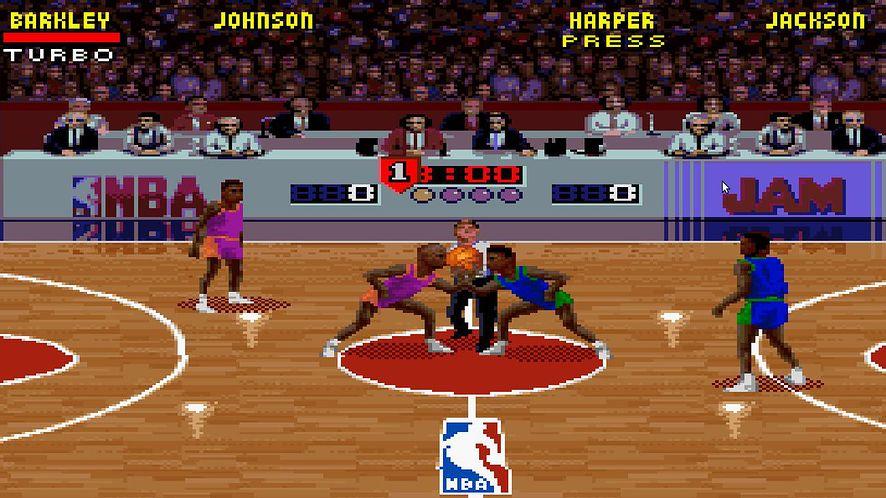 Król James i Steph Curry rządzą też w NBA Jam