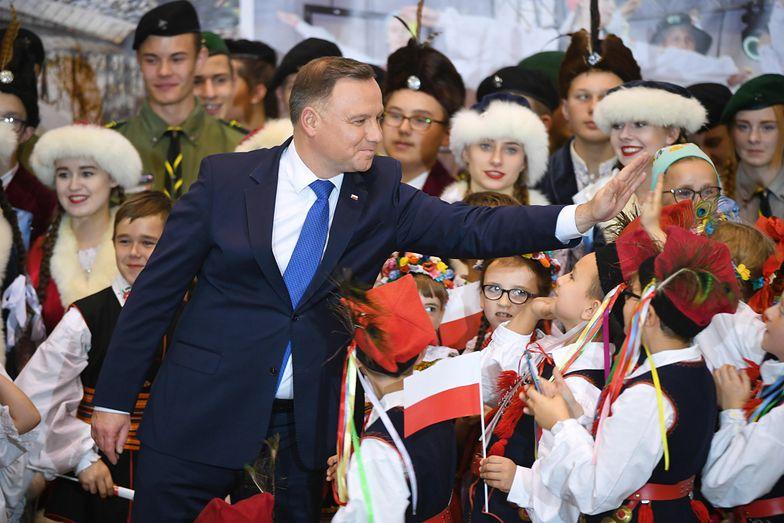 Andrzej Duda z wizytą w Nisku