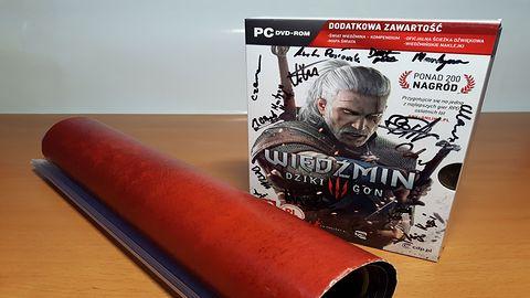 Growe Gadżety #7 Wiedźmin 3: Dziki Gon z autografami CDP RED!