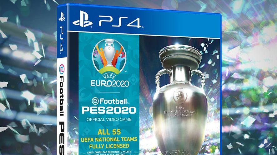Euro 2020 mogą odwołać, ale wirtualne w PES 2020 na pewno się odbędzie