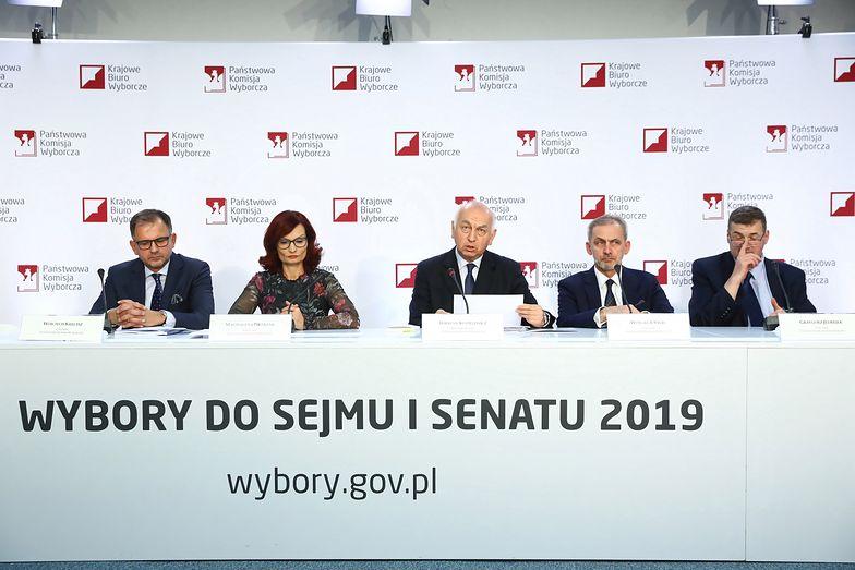 PKW podała ostateczne oficjalne wyniki wyborów parlamentarnych 2019. PiS ma samodzielną większość w Sejmie - 235 posłów