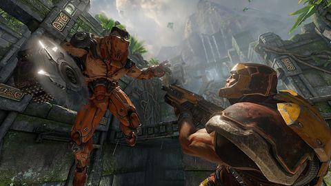 Pokazami rozgrywki Quake Champions i Prey Bethesda udowadnia ile może dzielić dwie gry FPP z bronią widoczną na ekranie