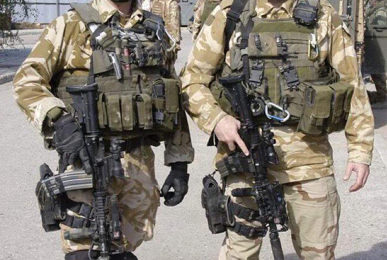 Komandos SAS utopił islamistę w kałuży