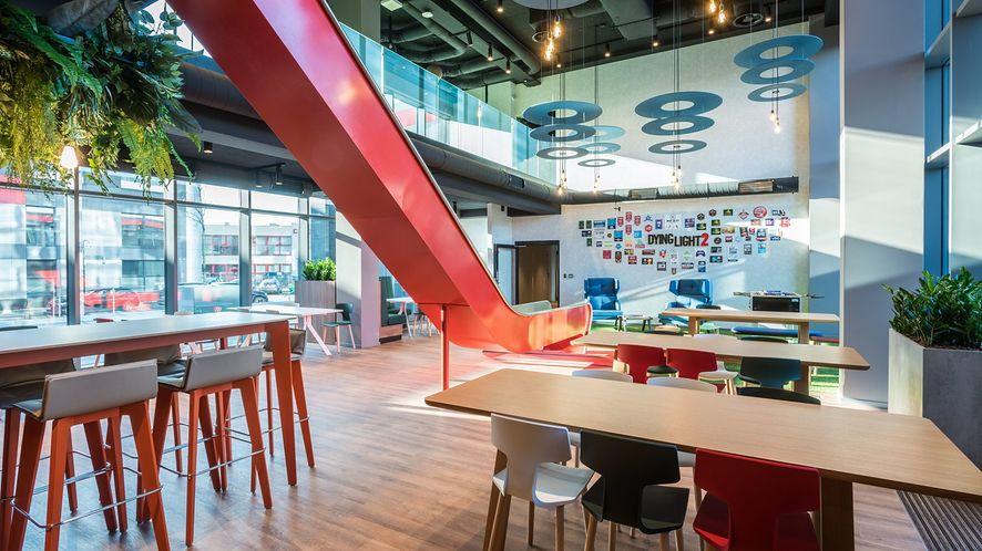 Nowa siedziba Techlandu. Tak wygląda od środka