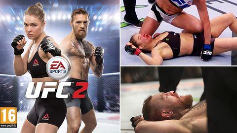 Liczba niepokonanych zawodników na okładce EA Sports UFC 2 zmalała do zera