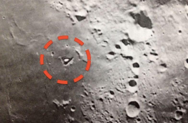 Twierdzą, że na Księżycu mieszkają obcy