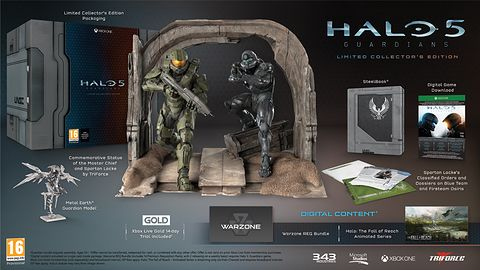 Nieprzyzwoicie droga Edycja Kolekcjonerska Halo 5: Guardians