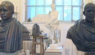 Rosyjski artysta wyrzeźbił Putina i Obamę
