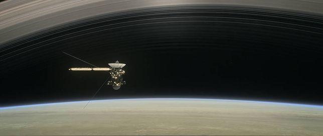 Sonda  Cassini zaczyna właśnie ostatnią fazę misji. Niebawem spali się w atmosferze Saturna