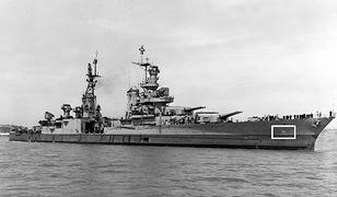 Amerykański okręt wojenny USS Indianapolis