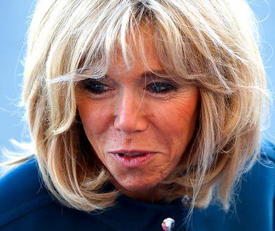 Brigitte Macron chwali kobiety za odwagę w mówieniu o swoich krzywdach.