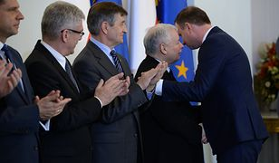 Jarosław Kaczyński i Adrzej Duda