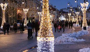 Świąteczna iluminacja rozbłysła na ulicach Warszawy! [GALERIA]