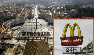 McDonald's chce otworzyć restaurację obok Placu św. Piotra. Kardynałowie są oburzeni
