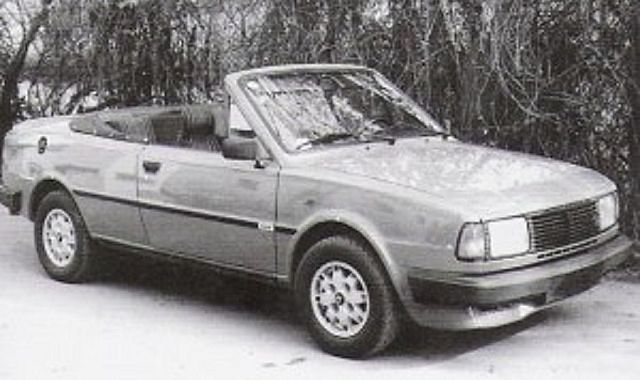 30 lat Skody Rapid kabriolet