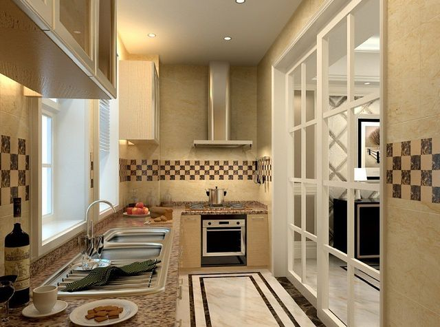 Razem, ale osobno kuchnia otwarta na salon  WP Dom -> Aranzacja Kuchni Otwarta Na Salon
