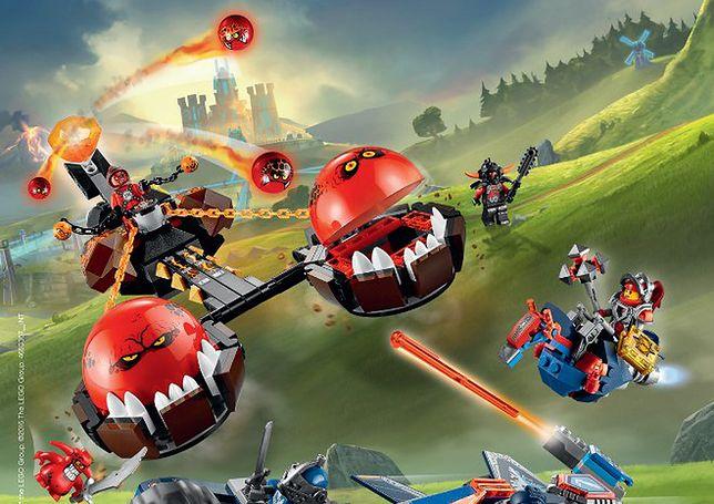 Klocki, które łączą zabawę ze światem wirtualnym - Lego Nexo Knights