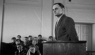 Witold Pilecki podczas procesu przed Wojskowym Sądem Rejonowym w Warszawie, 1948 r.
