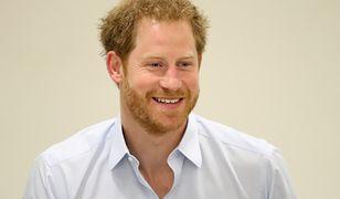 Książę Harry chce wspierać chorych na HIV