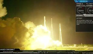Zobacz start i lądowanie rakiety Falcon 9!