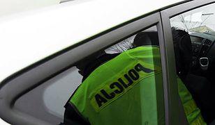 Policyjny radiowóz wjechał w kobietę na pasach w Tomaszowie Mazowieckim