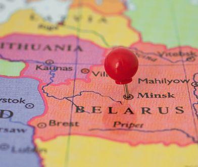 Mapa Europy Wschodniej.