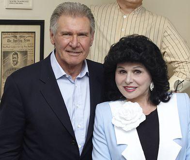 Harrison Ford i Yola Czaderska-Hayek