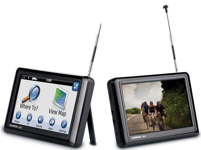 Garmin nüvi 2585TV - nawigacja z wbudowanym telewizorem