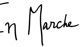 Pierwsze logo partii En Marche!