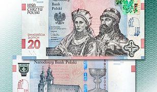 NBP sprzedaje banknoty kolekcjonerskie na 1050. rocznicę chrztu Polski