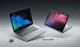 Nowe laptopy Surface Book 2.