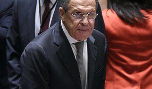 """Siergiej Ławrow uważa, że ryzyko konfliktu między USA i Koreą Płn. jest """"bardzo wysokie"""""""