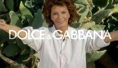 Sophia Loren w wiosennej kolekcji Dolce&Gabbana