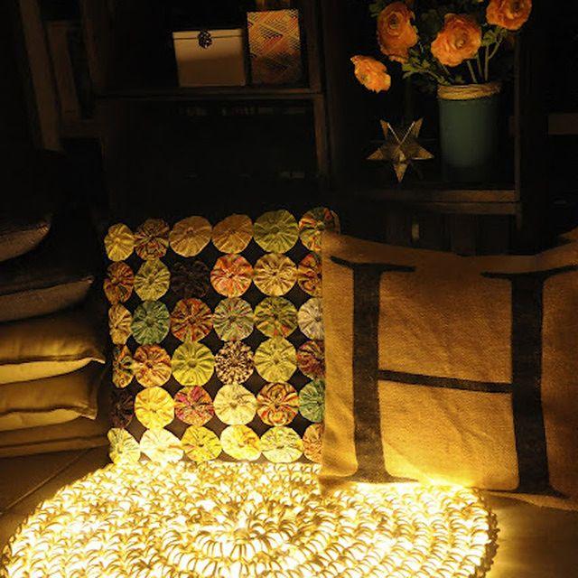 Świecący dywan