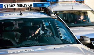 Młody mężczyzna popełnij samobójstwo w aucie straży miejskiej