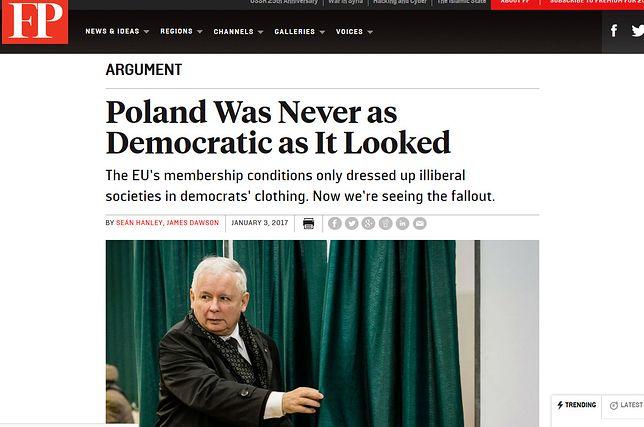 Demokracja kolesiów. Polska zatrzymała budowę silnej nowoczesnej demokracji w połowie drogi