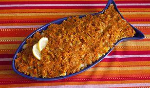 Ryba po grecku - wersja dietetyczna