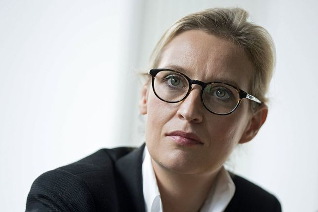 Alice Weidel, deputowana AfD do Bundestagu.