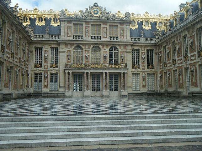 Pałac Wersalski był rezydencją króla Ludwika XIV