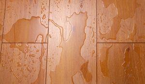 Materiały wykończeniowe: podłoga odporna na wodę