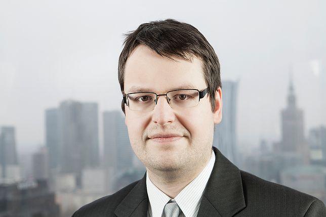 Marcin Lipka, główny analityk Cinkciarz.pl.