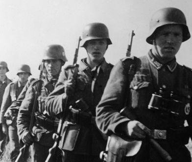Niemieccy żołnierze podczas II wojny światowej.