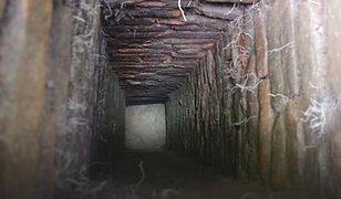 Tunel pod zamkiem w Człuchowie. Na razie nie wiadomo, do czego mógł służyć