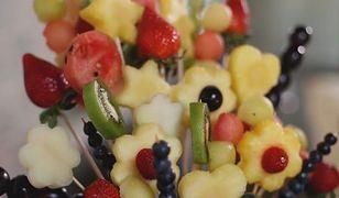 Owocowy bukiet na deser